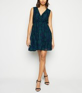 New Look Mela Floral Lace Mini Dress