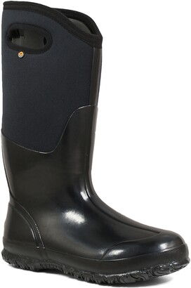 Bogs Classic Tall High Shine Insulated Waterproof Rain Boot