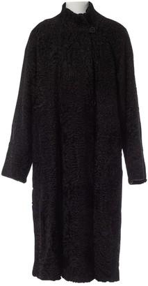 Astrakhan Birger Christensen Black Coat for Women