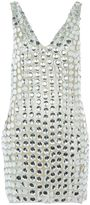 Topshop LFW **Large Circle Stone Dress