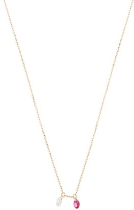 Raphaele Canot Set Free Diamond, Ruby & 18kt Gold Necklace - Yellow Gold