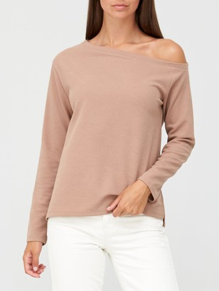 Very Slouch Co Ord Top - Camel