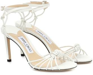 Jimmy Choo Lovella 85 leather sandals