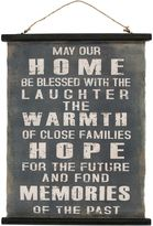 Casa Uno Home Canvas Affirmation Hanging Wall Art