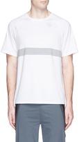 The Upside Reflective logo print performance T-shirt