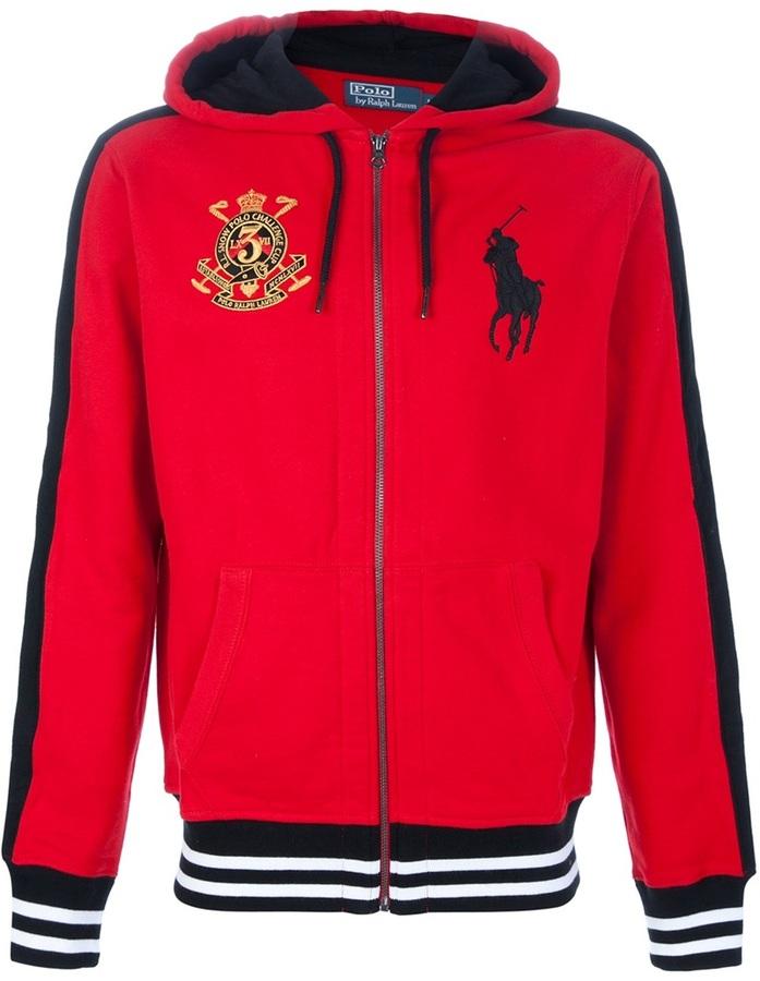 Ralph Lauren Blue Label Embroidered hoodie