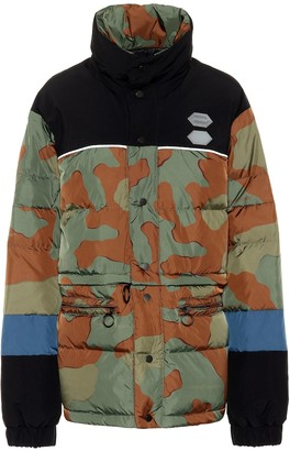 Off-White Off White Camouflage down jacket