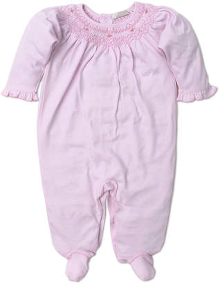 Kissy Kissy Fall Bishop Smocked Footie Playsuit, Size Newborn-9 Months