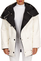 Yves Salomon Reversible Rabbit Fur Parka Coat