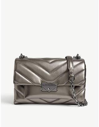 MICHAEL Michael Kors Cece quilted metallic leather shoulder bag