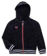 True Religion Toddler's, Little Girl's & Girl's Moto Zip-Up Cotton Hoodie