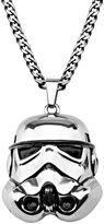 Star Wars Stainless Steel 3D Stormtrooper Pendant Necklace