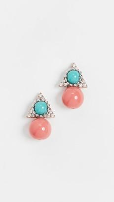 Theia Cecil Stud Earrings