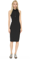 Veronica Beard Scuba Sleeveless Shirtdress