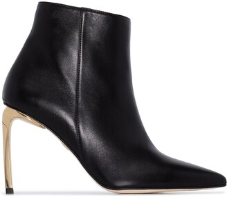 Charles Jourdan Magalie 90mm ankle boots
