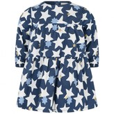Catimini CatiminiBaby Girls Navy Star Print Dress