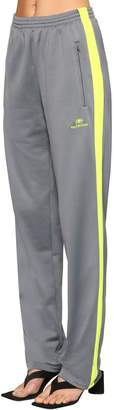 Balenciaga Fluo Side Band Jersey Track Pants