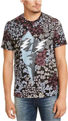 GUESS Men Flower Daze Graphic T-Shirt