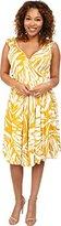Rachel Pally Plus Women's Plus Size Nella Dress White Label Print Batik Dress