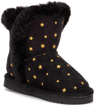 OLIVIA MILLER Stars Toddler Girls' Slipper Boots