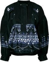 Sacai tribal lace blouse - women - Cotton/Nylon/Polyester - 2