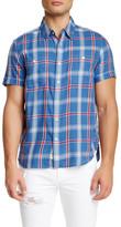 Lucky Brand Regular Fit Western Plaid Shirt