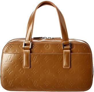 Louis Vuitton Brown Monogram Vernis Leather Shelton