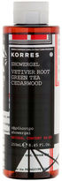 Korres Vetiver Root, Green Tea And Cedarwood Shower Gel 250ml
