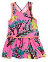 Billieblush Toddler's, Little Girl's & Girl's Sleeveless Jungle Dress