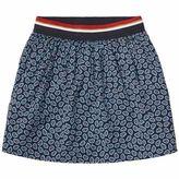 Tommy Hilfiger Paisley Crepe Skirt