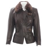 Hermes Leather biker jacket