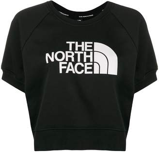 The North Face logo print sweat top