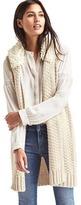Gap Sherpa collar sweater vest