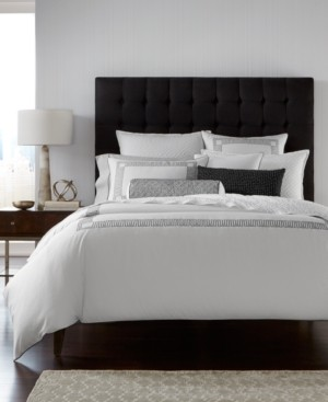 Hotel Collection Greek Key Cotton Full/Queen Duvet Cover, Created for Macy's Bedding