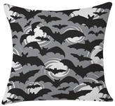"DENY Designs Heather Dutton Night Watch Throw Pillow Gray (20"" x 20"