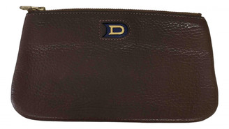 Delvaux Brown Leather Purses, wallets & cases