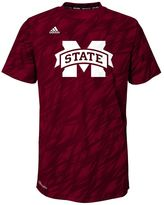 adidas Boys 8-20 Mississippi State Bulldogs Mark My Words climalite Tee