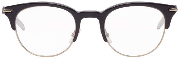 Christian Dior Black and Gold Dior202 Glasses