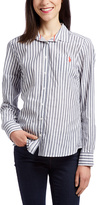 U.S. Polo Assn. Navy Stripe Button-Up