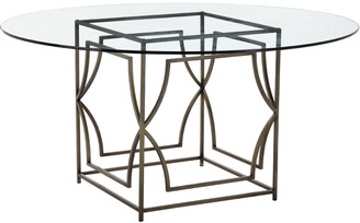 Pangea Edward Brass Dining Table