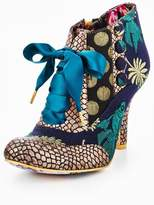 Irregular Choice Blair Elfglow Lace Up Shoe Boot- Green