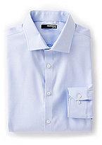 Murano Long-Sleeve Slim-Fit Spread Collar Star Sportshirt