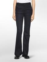 Calvin Klein Flared High-Rise Indigo Rinse Jeans