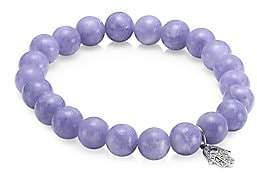 Sydney Evan Women's 14K White Gold, Diamond, Sapphire & Tanzanite Hamsa Charm Beaded Bracelet