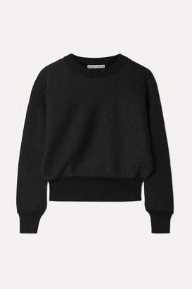Alice + Olivia Maire Metallic Knitted Sweater - Black