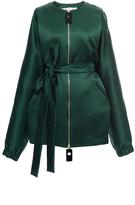 Marni Spherical Green Collarless Jacket
