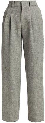 Libertine Greyscale Embellished Pleated Pants