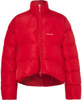 Balenciaga - Oversized Quilted Ripstop Down Jacket