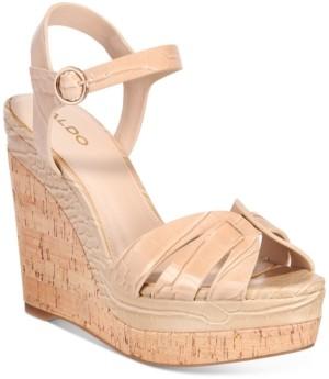Aldo Women's Manglietia Wedge Sandals Women's Shoes