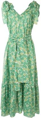 Bambah Floral Print Maxi Dress